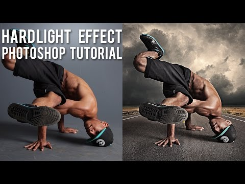 photoshop - This is the first live tutorial I recorded so I had no idea what I will end up with. Basically I wanted to show how to get a high contrast hard light effect ...
