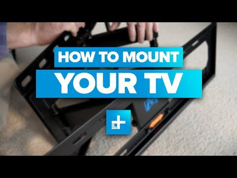 How to Wall Mount a TV (видео)