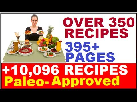 Paleo Recipes: Over 350 Healthy Food Recipes – Easy Cooking Recipes Including Best Chicken Recipes