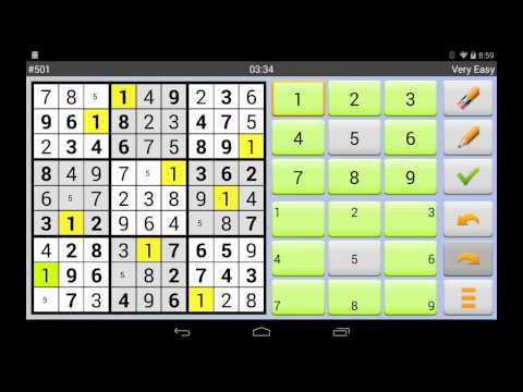 Video of Sudoku 10'000 Plus