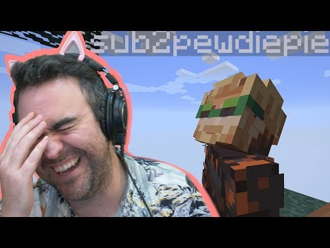 Pro Gamers Fail At Skyblock Minecraft