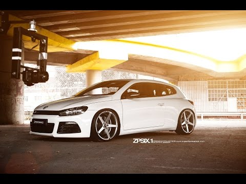 Low Volkswagen Scirocco R w/ 20