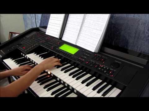 Hinário 5, hino 7 (antigo 402) cantado Ester - Yamaha EL90