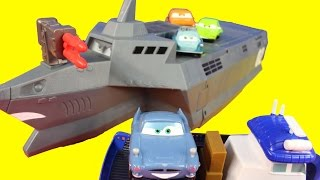 Video Disney Pixar Cars 2 Action Agents With Mater Finn McMissile Lemons Spy Train MP3, 3GP, MP4, WEBM, AVI, FLV April 2018