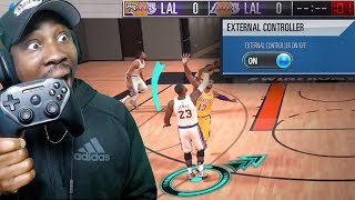 How To Use CONTROLLER On NBA 2K MOBILE! Button Layout & Tutorial Gameplay Ep. 14