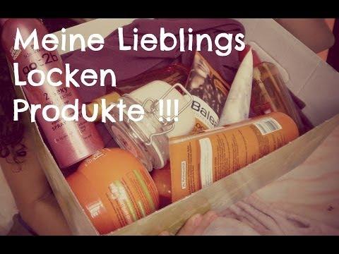 Meine Lieblings - Produkte für Locken! ♥
