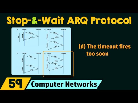 Stop-and-Wait ARQ Protocol
