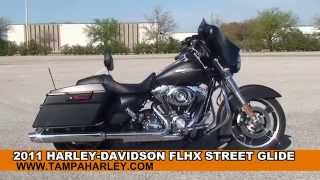 8. Used 2011 Harley Davidson Street Glide Motorcycles for sale in Clearwater FL
