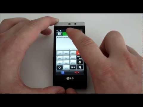 LG Mini GD880 - multitasking (wielozadaniowość)