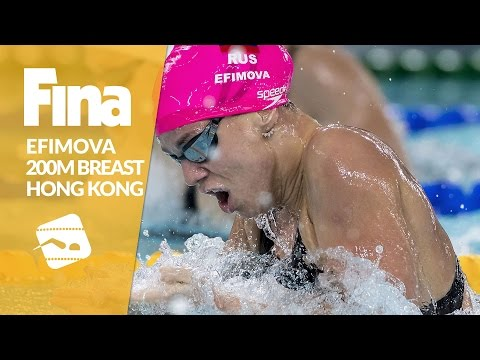 Efimova too strong for her opponents - 200m Breaststroke #9 Hong Kong