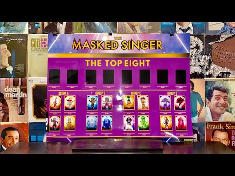 Masked Singer Season 4 - Game Board
