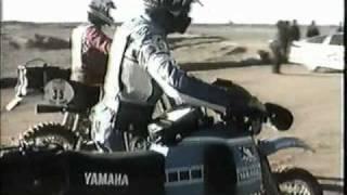 Bild Die XT 500 bei der Rallye Paris Dakar 1981
