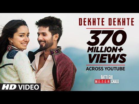 Download Atif A: Dekhte Dekhte Song | Batti Gul Meter Chalu | Shahid K Shraddha K | Nusrat Saab Rochak Manoj HD Mp4 3GP Video and MP3
