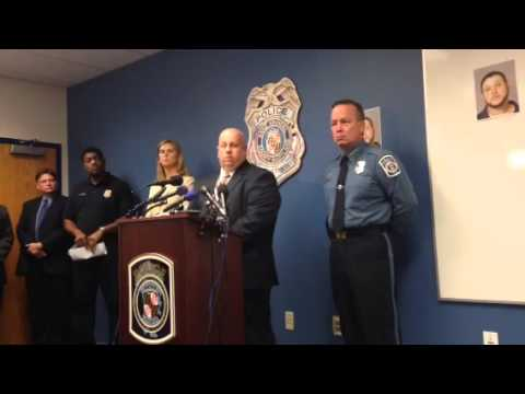 Press conference davidsonville murder