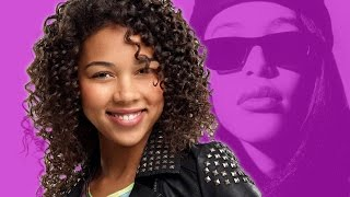 Alexandra Shipp Replaces Zendaya in Aaliyah Lifetime Movie - YouTube