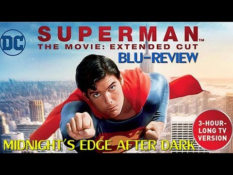 Superman The Movie (1978) TV Extended Version Blu-Review