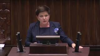 """Beata Szydło cynicznie próbuje postawić znak równości pomiędzy prawami kobiet a """"zabijaniem niepełnosprawnych dzieci""""!!!"""