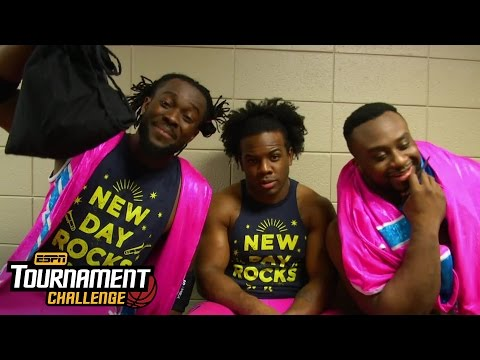 The New Day fills out their brackets for March Madness with ESPN's Tournament Challenge