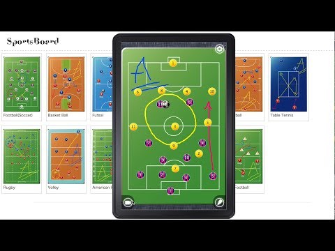 Video of Football Board (Soccer)