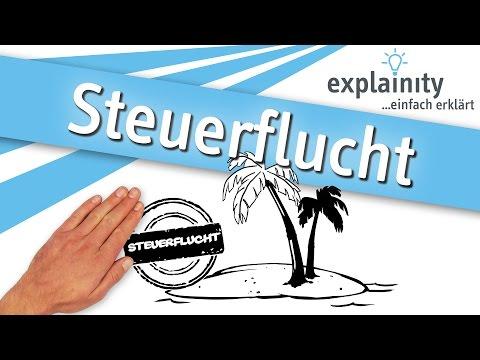 Steuerflucht einfach erklärt (explainity® Erklärvideo)