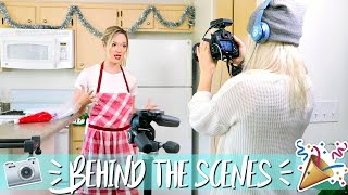 THE MAKING OF VLOGMAS!! BEHIND THE SCENES!! by Alisha Marie Vlogs
