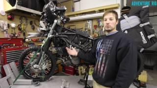 6. KTM LC8 Adventure Oil Tank Drain Hose Kit by CJ Designs [Review]