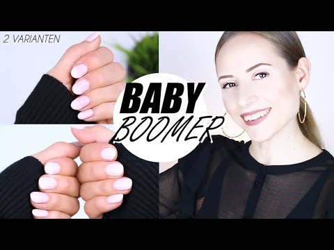 Nageldesign - Babyboomer Nägel mit UV-Lack selbermachen »Lalalunia«