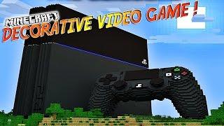 "Video Présentation du mod ""DECORATIVE VIDEO GAME""! - A toi la Playstation,Wii U ect... [1.7.10] MP3, 3GP, MP4, WEBM, AVI, FLV Juni 2017"