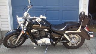 9. Motorcycle Oil Change - Honda 2002 VT1100 Shadow Sabre (2000-2007)
