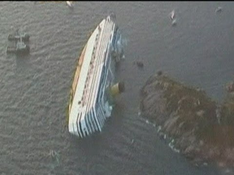 cruise ship capsized - It is thought at least three people have died after the Costa Concordia cruise ship ran aground on the Italian coast. . Report by Sophie Foster. Like us on F...