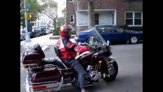 7. Riding my 1986 Honda Goldwing GL1200