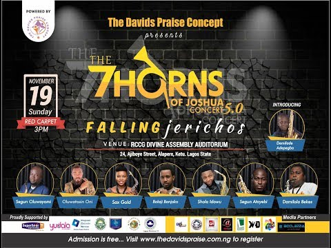 "The 7 Horns Of Joshua Concert 5.0 Themed ""Falling Jerichos"""