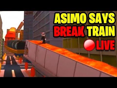 Roblox Jailbreak SIMON SAYS BREAK THE TRAIN (Winner Gets FREE $10 Robux Card)  Jailbreak LIVE