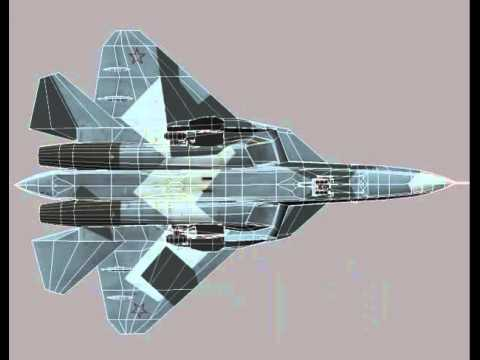 PAK FA T-50 Russian Stealth Jet...