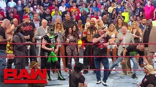 "Video ""Stone Cold"", Hulk Hogan and Ric Flair lead A Toast to Monday Night Raw: Raw Reunion, July 22, 2019 MP3, 3GP, MP4, WEBM, AVI, FLV Juli 2019"