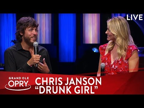 "Chris Janson Premieres ""Drunk Girl"" Music Video"