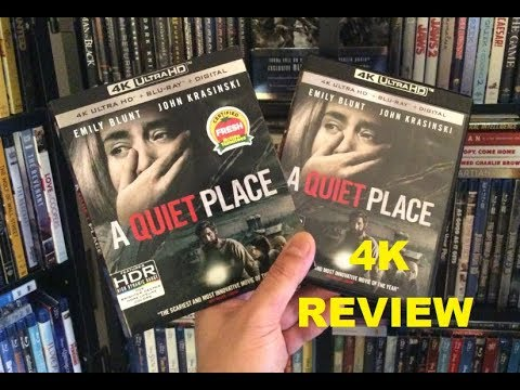 A Quiet Place 4K BLU RAY REVIEW + Unboxing