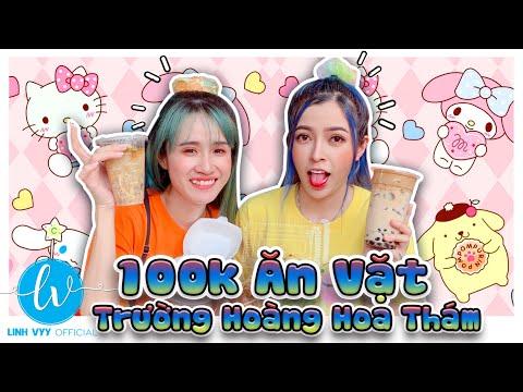 100k Ăn Vặt Cổng Trường THPT Hoàng Hoa Thám I Linh Vyy Official