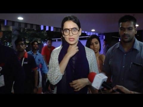 Kangana Ranaut's Reaction On Being Upset With Medi