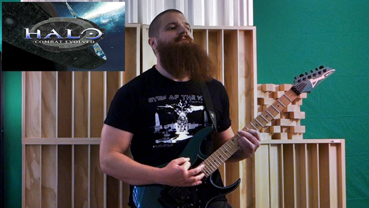 Halo: Combat Evolved Theme on electric guitar