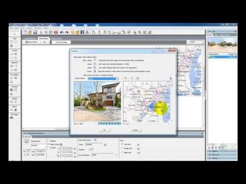 Easypano Tutorial: Add Bing Map Viewer in a Virtual Tour with Tourweaver 7.98
