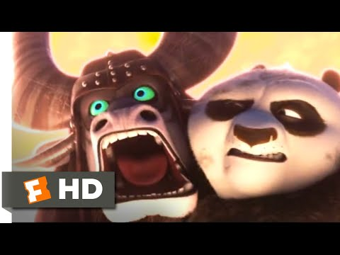 Kung Fu Panda 3 (2016) - Skadooshing the Spirit Warrior Scene (8/10) | Movieclips