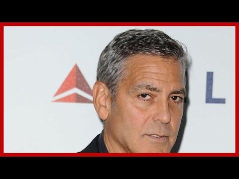 George Clooney motorbike crash PICTURED as injured actor is hospitalised in Sardinia