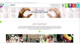 Registro como ciudadano o persona natural en Mi Seguridad Social