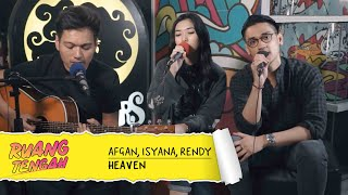 Download Lagu AFGAN, ISYANA SARASVATI, DAN RENDY PANDUGO - HEAVEN Mp3