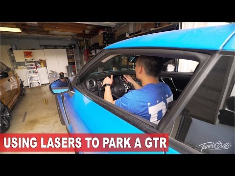 Parking my GTR Using Dual Lasers