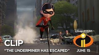 "Video Incredibles 2 Clip - ""The Underminer Has Escaped"" MP3, 3GP, MP4, WEBM, AVI, FLV Juni 2018"