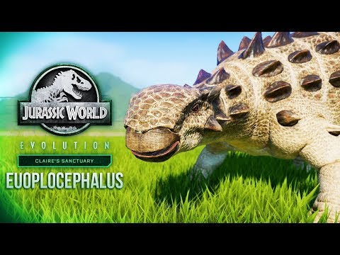 EUOPLOCEPHALUS | All The Skins And Animations (JWE Claire's Sanctuary DLC)