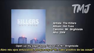 Letra Traducida Mr. Brightside de The Killers
