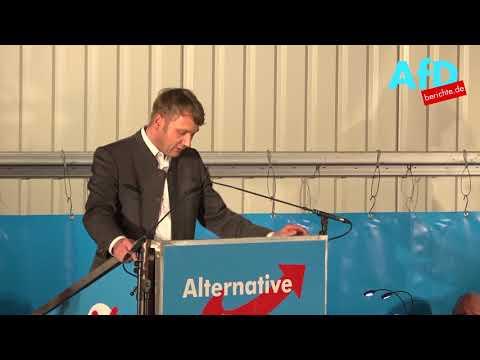 Andre Poggenburg: Politischer Aschermittwoch der Af ...